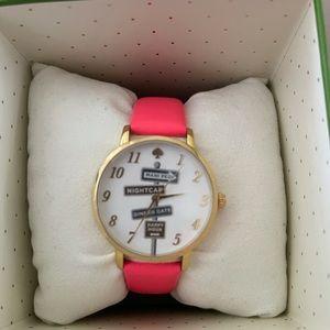 NWT Kate Spade Rare NY Metro Pink Watch